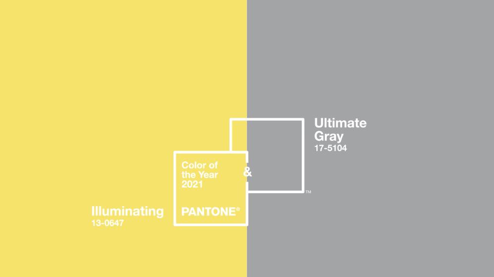 colores del 2021 según Pantone